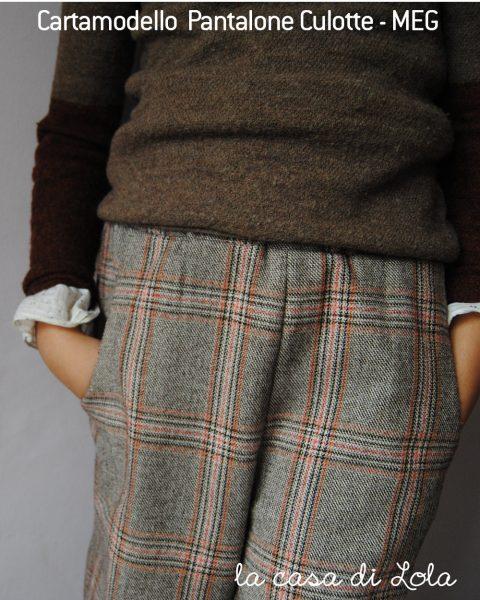 Cartamodello PDF pantalone bambina